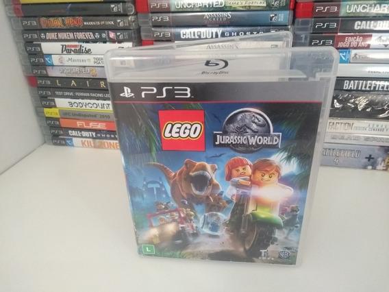 Lego Jurrasic World - Ps3 Mídia Física