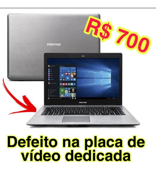 Vendo Notebook Com Defeito Na Placa De Vídeo Dedicada!