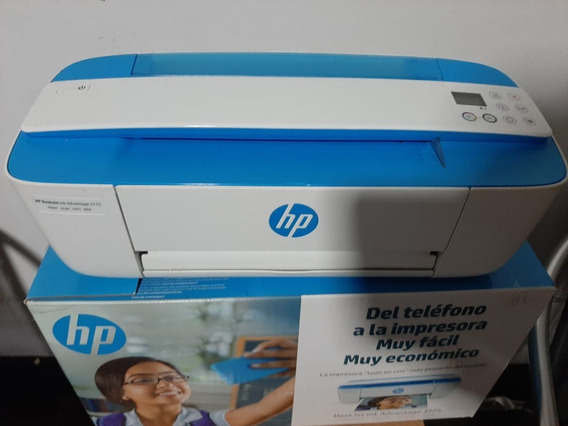 Impressora Hp Multifuncional Deskjet Ink Advantage 3775