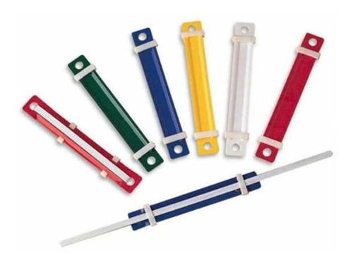 Imagen 1 de 3 de Broche Acco De Plastico Deli X50 Unidades