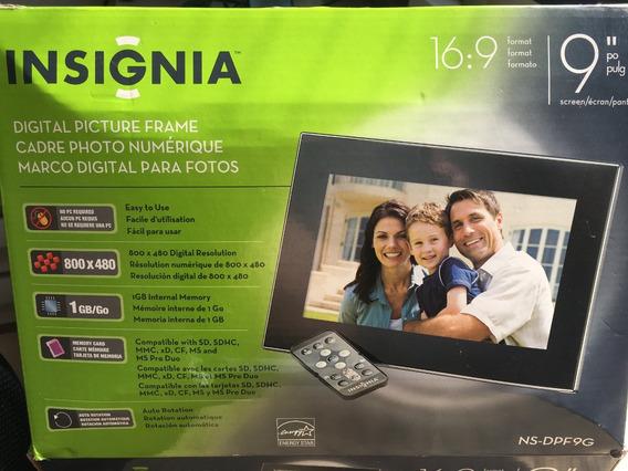 Porta Retrato Digital Insignia_tela De 9 Polegadas