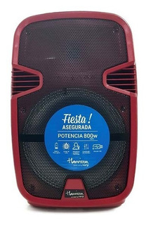 Parlante Portatil Acid Plus Microfono 400w Bluetooth Fm Usb