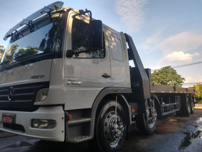 Mercedes-benz 2428 4 Eixo Plataforma Guincho Com Redutor