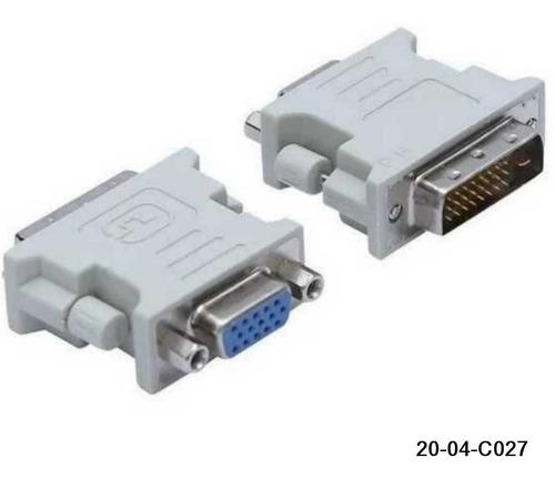 Adaptador Dvi-d 24 + 1 A Vga Hembra 15 Pin 20-04-c027