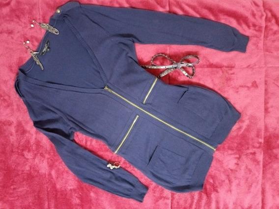 Kit Blusa Zíper Kit Acessórios Cinto Brincos Blusa Comprida