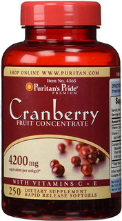 Cranberry 4200mg 250 Softgels, Puritan