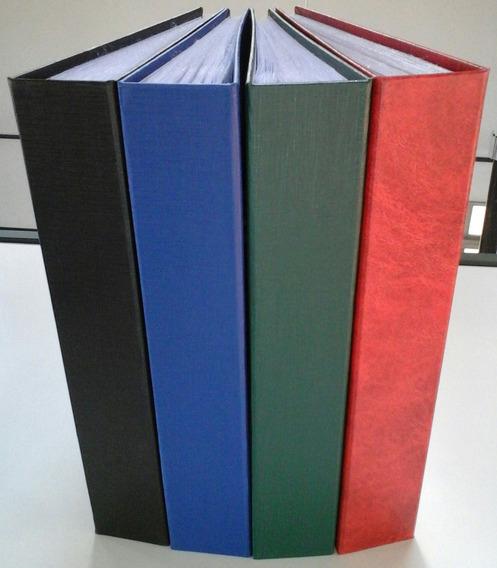 Álbum P/ 240 Envelopes, Cédulas Ou Postais