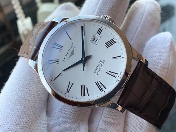 Relógio Longines Record Automatic Chronometer L2.821.4.11.2