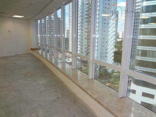 Imagem 1 de 10 de Conjunto Comercial Para Locação, Brooklin, São Paulo. - Cj0169