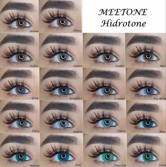 Pupilentes Meetone Hidrotone Estuche+envío Gratis