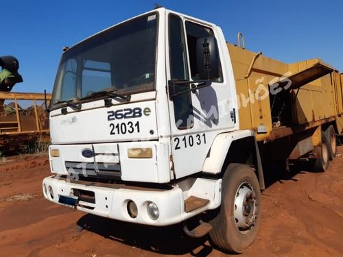 Imagem 1 de 6 de Ford Cargo 2628 Comboio Melosa 2007