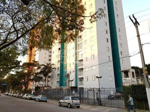 Imagem 1 de 15 de Apartamento A Venda, Parque Novo Mundo, Cond. Praças Das Américas, 03 Dormitórios, 01 Vaga, Varanda. - Cf32971