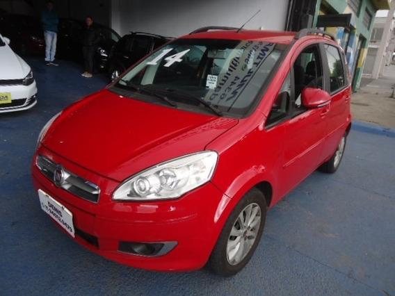 Fiat Idea 2014 Attractive 1.4 Flex Vermelha