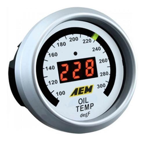 Reloj De Temperatura De Agua/aceite Aem
