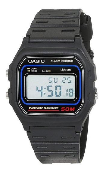 Relógio Casio Unissex Vintage W-59 1vq Digital Oferta
