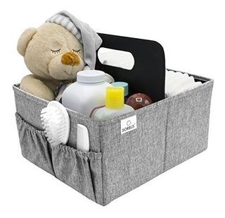 Sorbus Baby Diaper Caddy Organizador | Caja De Almacenamient