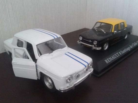 Combo Renault 8 Taxis Del Mundo Y Gordini 1:43