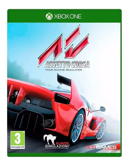 Jogo Assetto Corsa Xbox One Mídia Física
