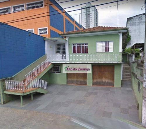 Casa Com 3 Dormitórios À Venda, 400 M² - Saúde - São Paulo/sp - Ca0269