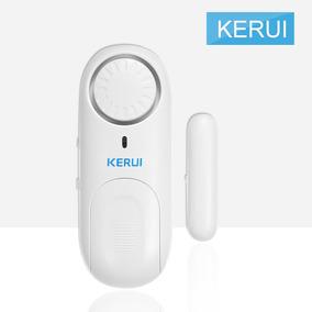 Porta Independente Do Alarme Sensor Magnético Sem Fio Porta