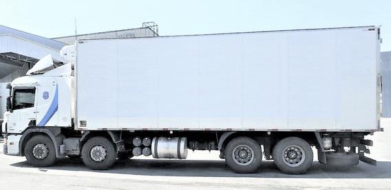 Scania P 310 Bitruck 2014 Frigorifico Gancheiro