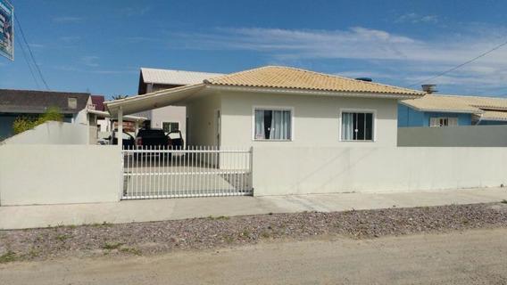 Casa Em Praia Do Sonho (ens Brito), Palhoça/sc De 90m² 2 Quartos À Venda Por R$ 310.000,00 - Ca186861