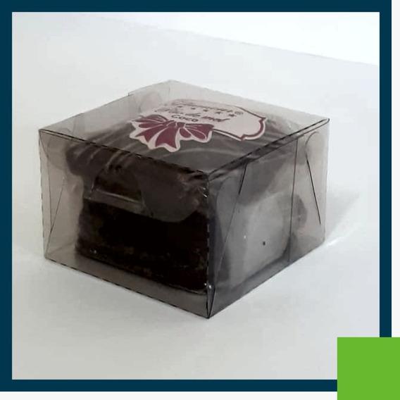 250 Caixas Acetato 7x7x4 Para Doces E Artesanatos Em Geral