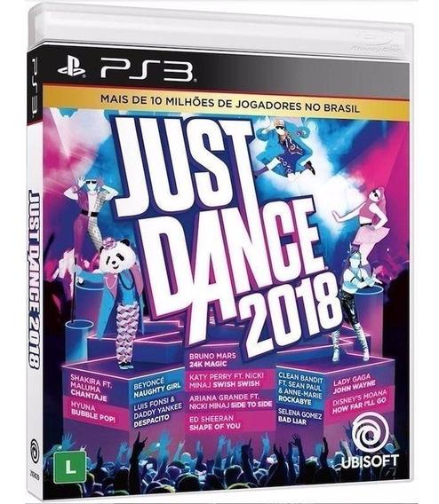 Just Dance 2018 - Jogo Ps3 Original - Midia Fisica Lacrado