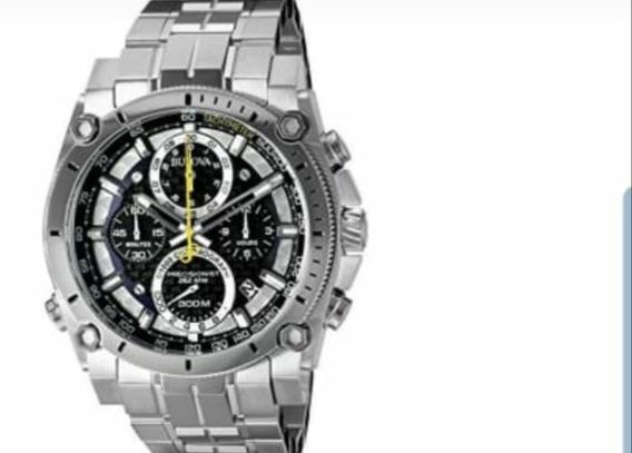 Reloj Bulova Para Hombre . Precisionist De Acero.