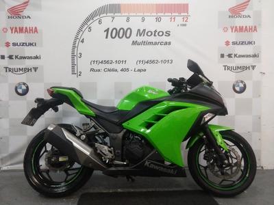 Kawasaki Ninja 300 2015 Otimo Estado Aceito Moto