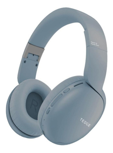 Audífonos inalámbricos Tedge H600BT azul claro