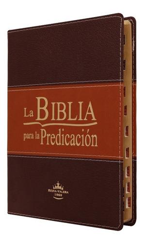 Biblia De Estudio Para La Predicación Índice Marrón Rvr 60
