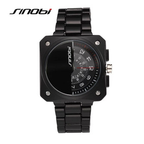Reloj Sinobi Ginebra Aviator Multi Disco S M H Lujo Sport