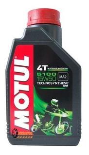 1 Aceite Motul 5100 15w50 4t Semi Sintético Para Motos