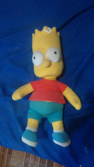 Pelucia Boneco Bart Simpson 48 Cm Original
