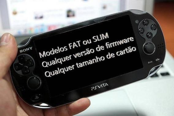 Ps Vita Desbloqueio + Emulador Retroarch + Pack Roms