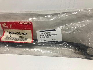Tensor Cadena Distribucion Nx 250 Honda
