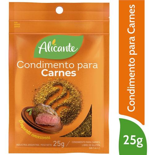 Alicante Condimento Para Carnes X 25 Gr