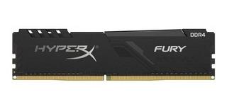 Memoria Ram Kingston Hyperx Fury Black 16gb Ddr4 3200mhz Pc