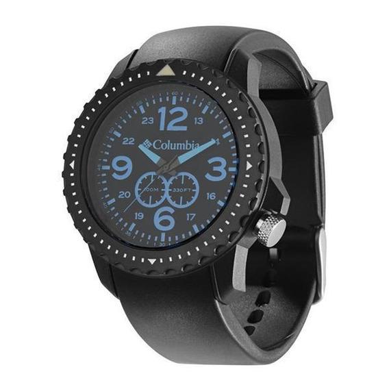 Relógio De Pulso Columbia Urbaneer - Preto/azul