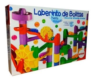 Laberinto De Bolitas Vuelta Al Mundo Antex