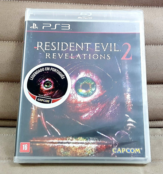 Ps3 Resident Evil Revelations 2 ( Mídia Física ) Lacrado