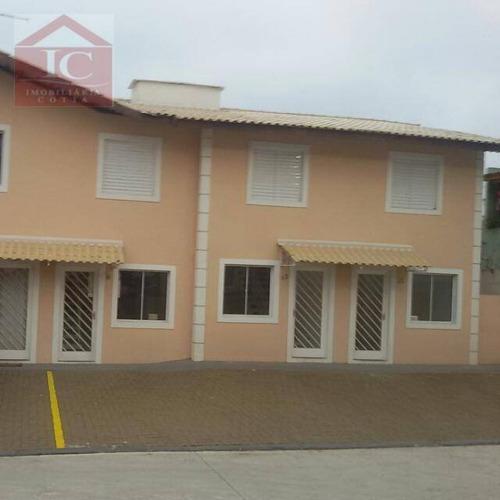 Casa Com 2 Dormitórios À Venda, 63 M² Por R$ 260.000,00 - Jardim Sandra - Cotia/sp - Ca1093