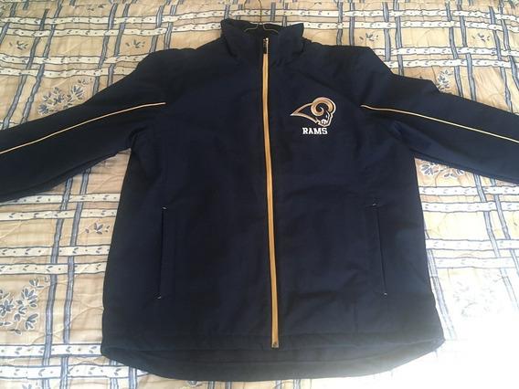 Chamarra Con Cierre Completo De Los Rams De Los Angeles