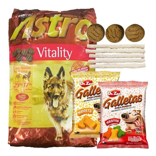Imagen 1 de 2 de Comida Astro Adulto Vitality 15 Kg + Envío Gratis + Regalo