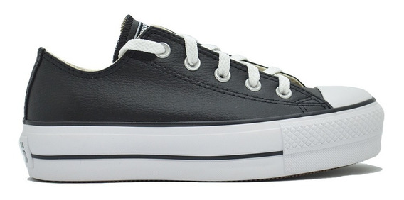 Zapatilla Converse All Star Ox Lift 56476x Plataforma Moda