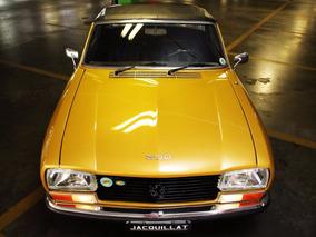 Peugeot 304s Cabriolet 1974 Xl3s, 2 Lugares, Espetacular!