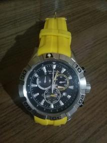 Relogio Nautica Amarelo