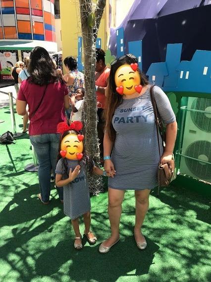 Vestido Mãe E Filha Liritty Usado