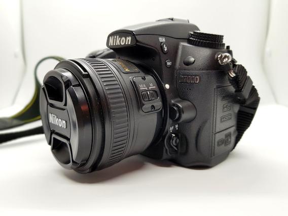 Kit Cámara Digital Nikon D7000 + Lente Nikon 50 Mm 1.8 G Af